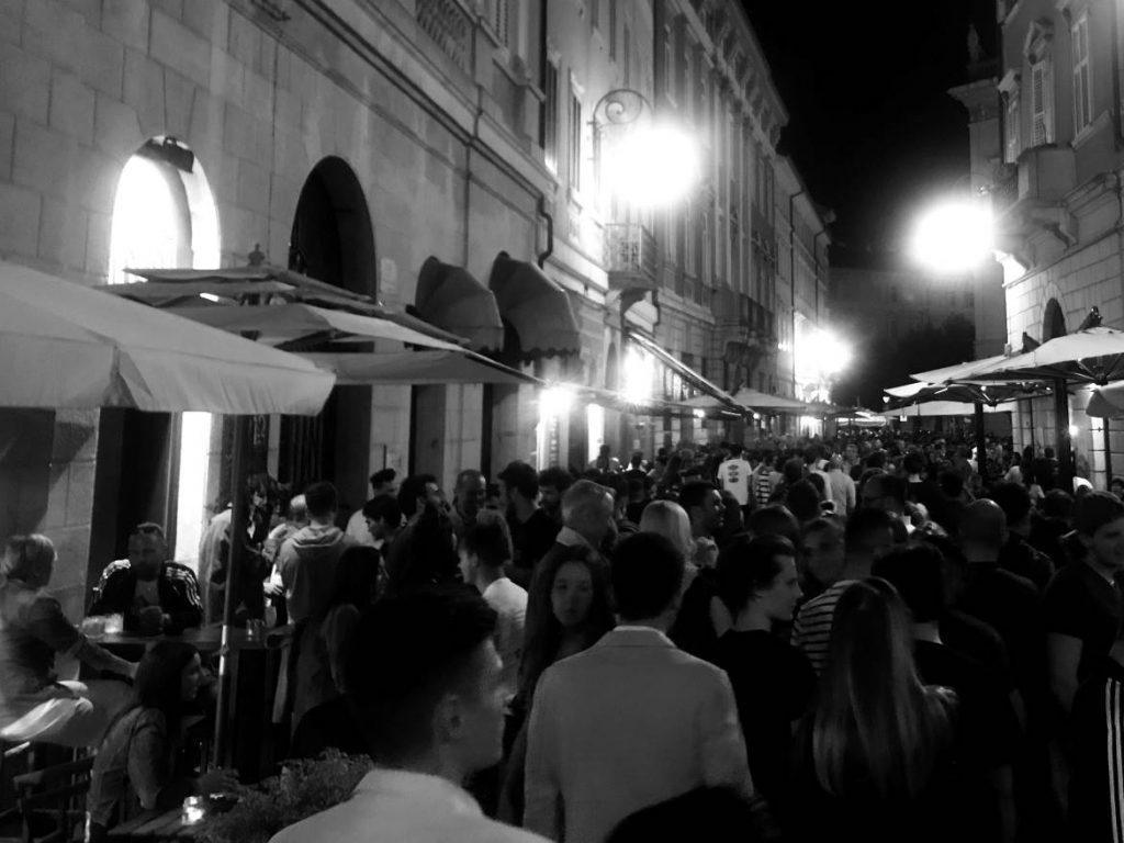 Nachtleben in Italien