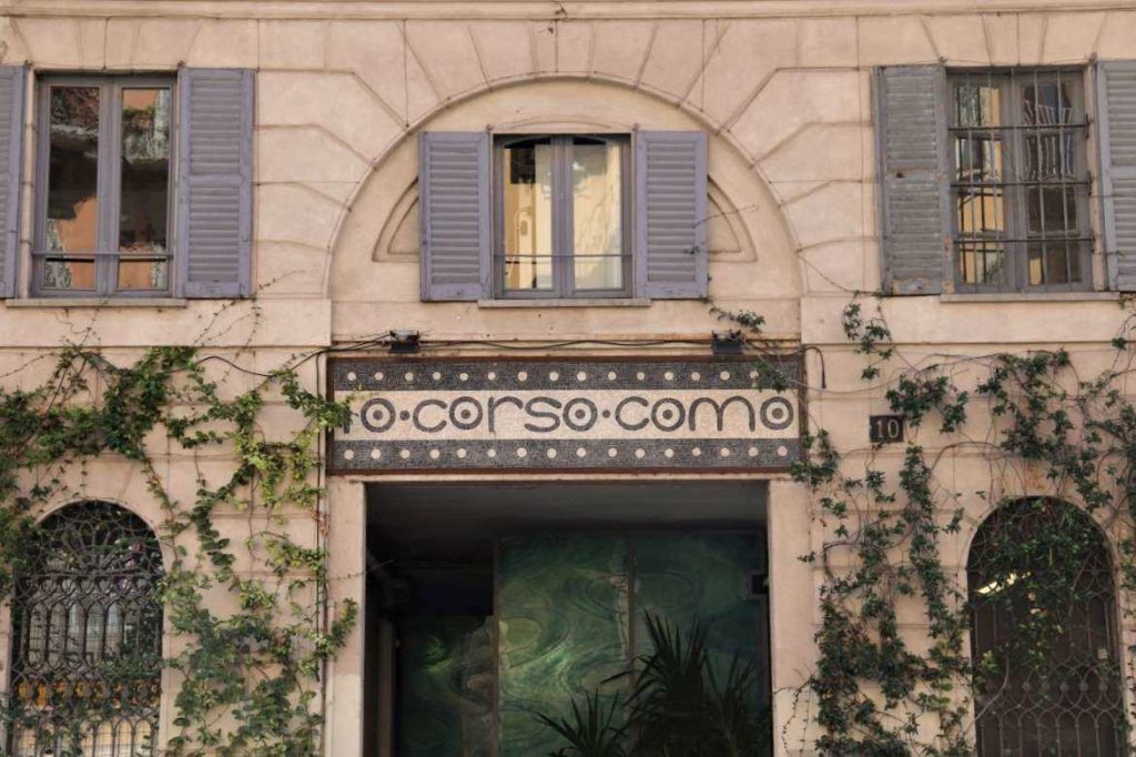 Eingang von 10 Corso Como