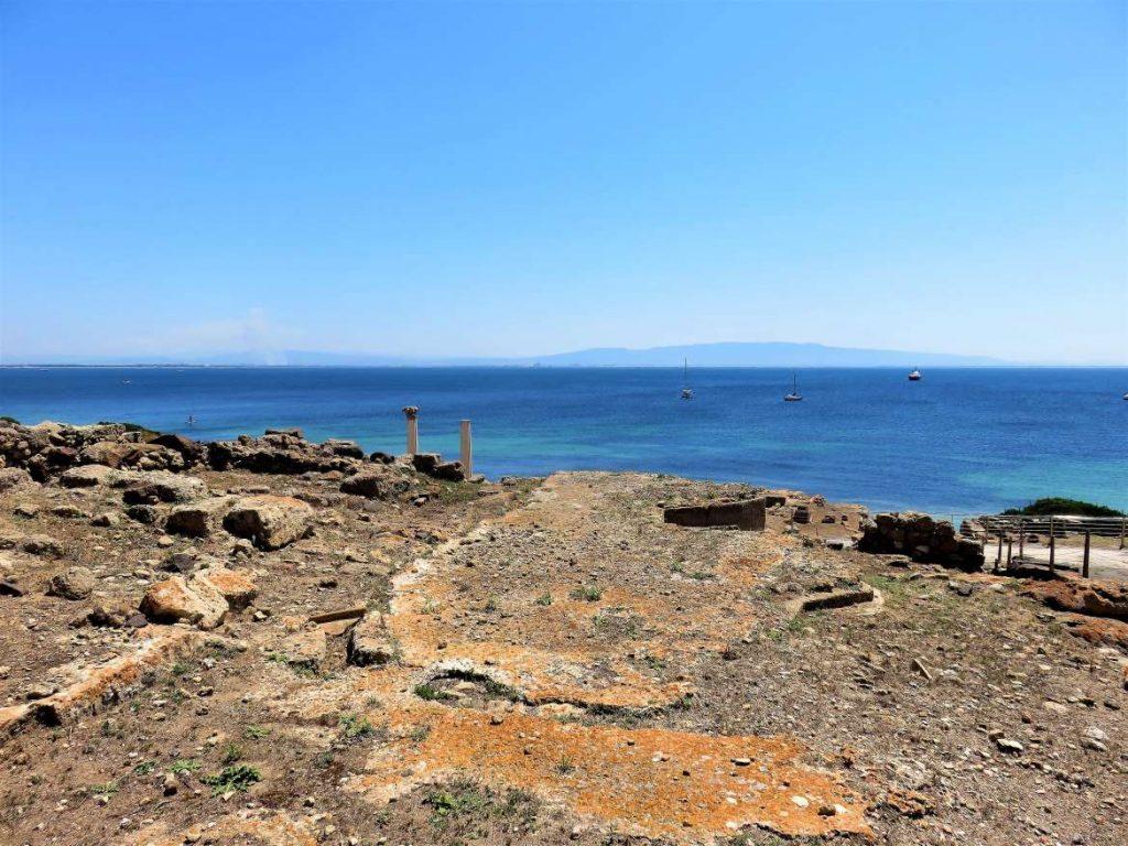 Die Ausgrabungen der antiken Stadt Tharros in Sardinien