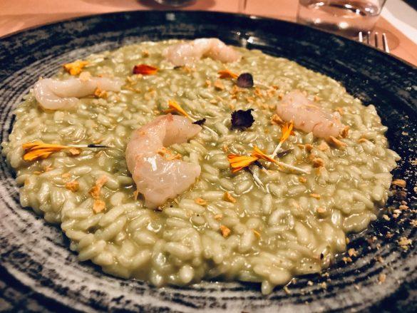 """Restaurant in Triest: """"Risotto agli scampi"""""""