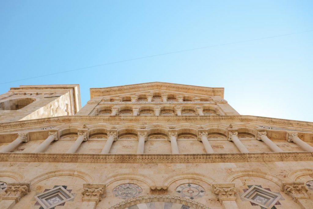 Sardinien: die Kathedrale von Cagliari Santa Maria di Castello